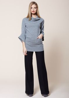 brunello cucinelli | ruched sleeve top