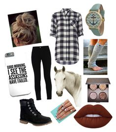 """My summer Riding outfit"" by jessiethejockey on Polyvore featuring STELLA McCARTNEY, Dorothy Perkins, Natural Curiosities, Timberland, Lime Crime, Laura Mercier and Geneva"