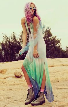 sea punk inspiration outfit