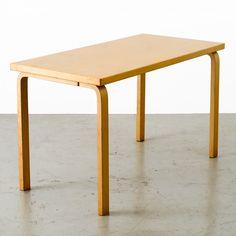 For sale: Model 80A table by Alvar Aalto for Artek, Finland