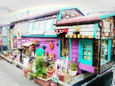 Colorful houses!