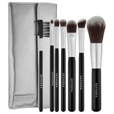 SEPHORA COLLECTION - Deluxe Antibacterial Brush Set -- My Brush Betty. #welovemakeupbrushes