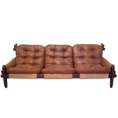 Jean Gillon Brazilian Lounge Sofa | From a unique collection of antique and modern sofas at https://www.1stdibs.com/furniture/seating/sofas/