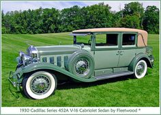1930 Cadillac V-16,  i would feel like a Judge in this!