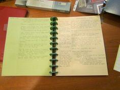 Conceptualizing a Novel: Journaling, Plots, and Characterization