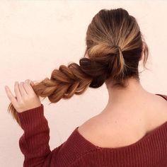 Bubble braid #hair #hairstyle #style #styles #fashion #art #braids #frenchbraids #cornrows #hairbyorit #waves #beachwaves #curls #livedinhair #blowout @hairbyorit