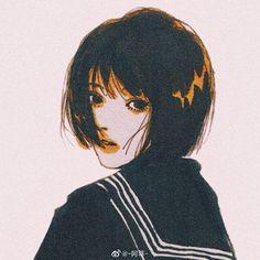 rooyklam - 0 results for illustrations Anime Art Girl, Manga Art, Aesthetic Art, Aesthetic Anime, Pretty Art, Cute Art, Art Sketches, Art Drawings, Art Inspo
