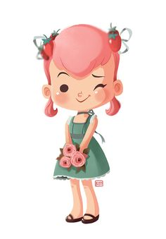 Girly Illustrations on Behance