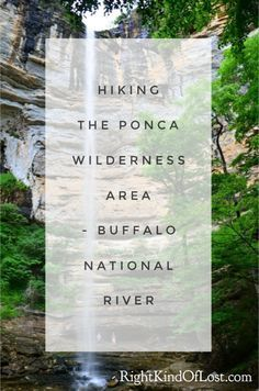 The Ponca Wilderness Area along the Buffalo National River in northwest Arkansas offers many beautiful sites along its hiking trails. Arkansas Camping, Arkansas Vacations, Camping And Hiking, Hiking Trails, Backpacking, Hiking Usa, Ponca Arkansas, Family Vacation Spots, Family Travel