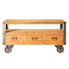 Moe's Home Collection Brockton Wood TV Table
