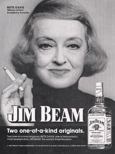 Bette Davis for Jim Beam.