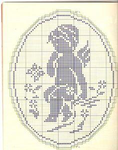 Terri Woodward's media statistics and analytics Filet Crochet, Crochet Chart, Crochet Doilies, Cross Stitching, Cross Stitch Embroidery, Embroidery Patterns, Crochet Patterns, Stitch And Angel, Cross Stitch Angels