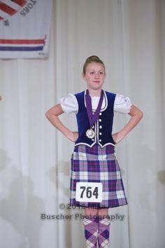 Kilt with royal blue vest Scottish Highland Dance, Highland Games, Blue Vests, Dance With You, Dance Outfits, Tartan, Your Photos, Royal Blue, Scotland