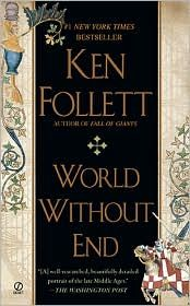 World Without End by Ken Follet. Sequel to the Pillars of the Earth. Another one of my faves.
