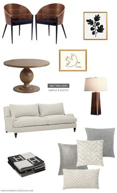 Simple & Rustic Interiors | get the look