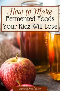 out how to make kid friendly fermented foods at home perfect for gut health and natural probiotics at Naturally Free Life!Find out how to make kid friendly fermented foods at home perfect for gut health and natural probiotics at Naturally Free Life! Holistic Nutrition, Health And Nutrition, Nutrition Websites, Nutrition Products, Nutrition Data, Cheese Nutrition, Nutrition Guide, Fitness Nutrition, How To Make Fermented Foods