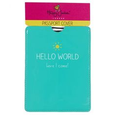 Happy Jackson Passport Cover #wildandwolf
