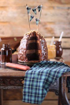 Layer cake de mantequilla de cacahuete 2