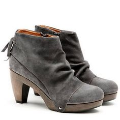 I want you clog bootie