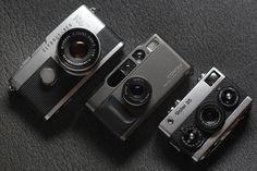 Olympus Pen F + Zuiko 38mm F/1.8 Contax T2 + Carl Zeiss Sonnar 38mm F/2.8 Rollei 35 + Carl Zeiss Tessar 40mm F/3.5