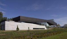 Bibliothèque du Boisé by Eric Pelletier, Cardinal Hardy in Montréal, Canada