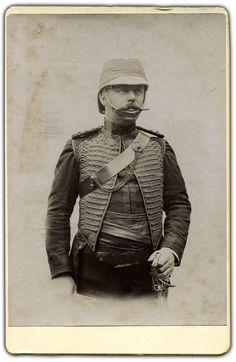 Soldiers of the Queen - Captain Cavalry Officer. India 1890s
