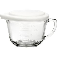 Anchor Hocking 2-qt Glass Batter Bowl with Lid