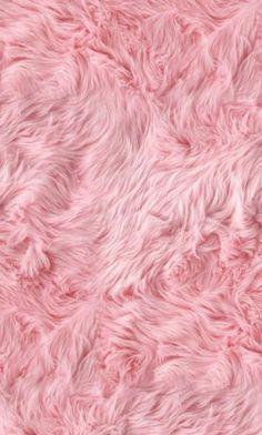 Pink fluffy wallpaper