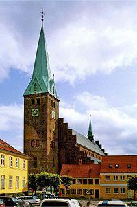 Sankt Olai Domkirke, Helsingør, Denmark.