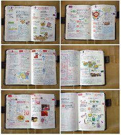Hobonichi Techo by Cute Organizing, via Flickr