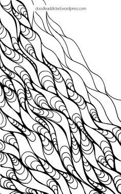 Giggly doodle art progress shot 6