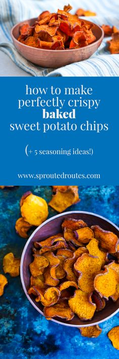 Get the perfect, crispy baked sweet potato chip every time with this innovative method. It also works for other types of vegetable chips!
