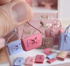 Dollhouse Miniature Paper Fast Food Bag #3