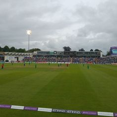 England v Pakistan .. Weather holding out.. Game on!