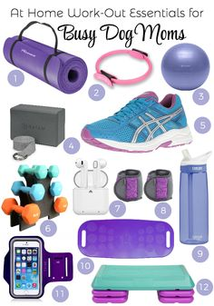 At Home Work-Out Essentials for Busy Dog Moms