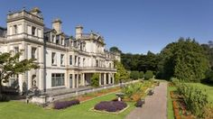 The Italian Terrace and south front of Dyffryn House, Wales © Andrew Butler