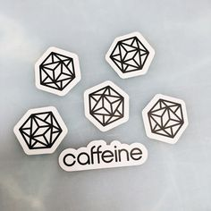 Thanks for you order a while back @caffeine #caffeine #socialbroadcasting #logo #process #startupstickers