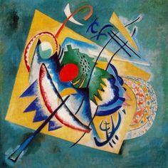 Wassily Kandinsky - Rot Oval