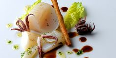 Michael Wignall's complex and visually stunning salt cod recipe makes an impressive seafood starter - well worth the preparation for the gloriously fresh flavours