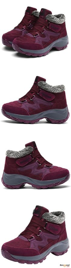US$44.99 + Free shipping. Size: 5~9. Color: Black, Purple Gray, Purplish Red. Women's Boots, Women's Shoes. SHOP NOW!
