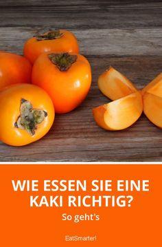 Wie essen Sie eine Kaki richtig? | eatsmarter.de