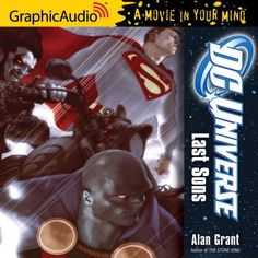 GraphicAudio DC Comics DC Universe: Last Sons
