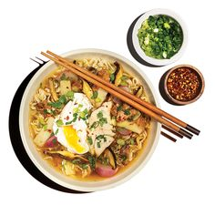 Alabama Ramen Bowl. Largemouth bass meets pulled pork in this redneck riff on the Japanese noodle soup.