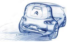 Lars Taubert Çizim Citroen Tubik Konsept (2011) | Ulugöl Otomotiv Citroen sayfası: www.ulugol.com.tr/citroen.aspx
