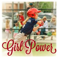 Charlotte demonstrating some awesome girl power playing boys little league baseball spring 2013