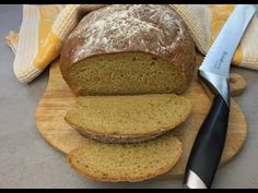 Kartoffel-Bier-Brot - Thermomix - Rezept von Thermiliscious Pampered Chef, Bread, Food, Youtube, Beer Bread, Bread Baking, Simple, Thermomix Bread, Waffle Iron