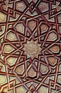 islamic geometric muqarnas - Google'da Ara