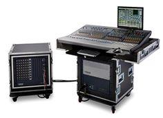 Avid's VENUE Profile System for live sound production.  #Avid #console