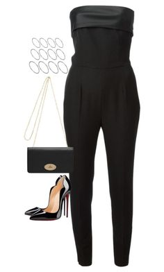 """Untitled#3645"" by fashionnfacts ❤ liked on Polyvore featuring Yves Saint Laurent, Christian Louboutin, Mulberry and ASOS"