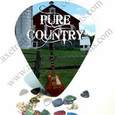 "$26.99 with free shipping. Pure Country Les Paul Giant Guitar Pick Wall Art - 1110. Measuring 11"" x 9 1/4"" x1/8"", this giant graphical guitar pick is he perfect gift  that that someone you never know what to get especially if they are a fan of country music or a patriot to their country."